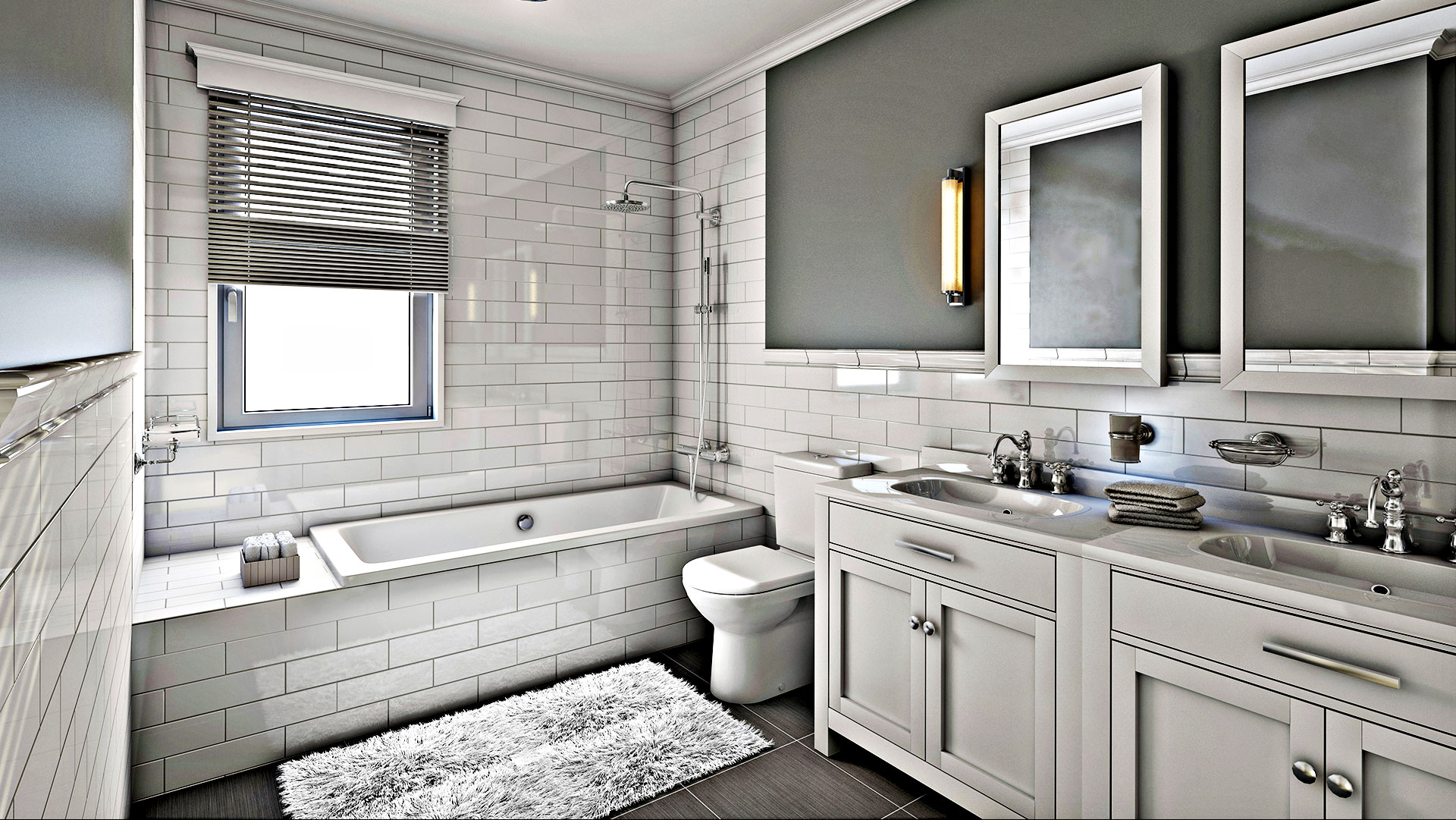 Omni Remodeling Co. LLC Remodeled Bathroom